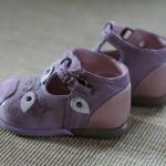 Première paire de chaussure (vue de côté)