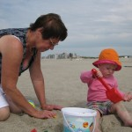 Dans le sable avec Grany