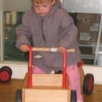 Chez Dille & Kamille, Lucie a eu un coup de coeur pour ce joli chariot
