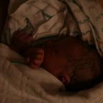 Première photo 2 heures après sa première respiration