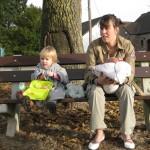 Goûter familial en plein air