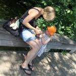 Petit goûter au parc de Gistoux (pour Lucie)